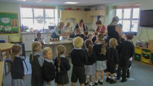 Schools' Porridge Day 3rd October 2014 as it happens.
