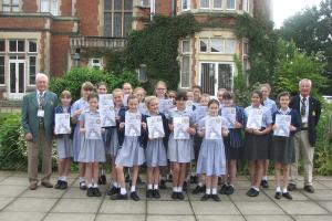 St Nicholas School & their Rotary Certificates