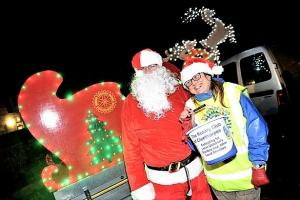 Big light switch on in Cleethorpes