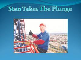 Stan Takes The Plunge
