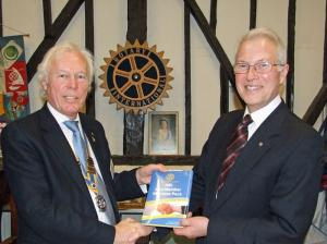 23 February 2011 - Rotary Day - we toast our Paul Harris Fellows and welcome a new member