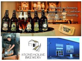 Joint Visit to the Stonehouse Brewery, Oswestry with Wrexham RC