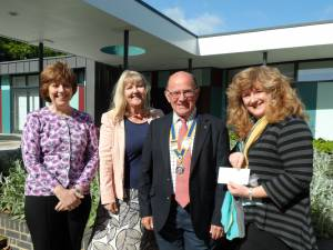 9 May 2014 - visit to Stony Dean School