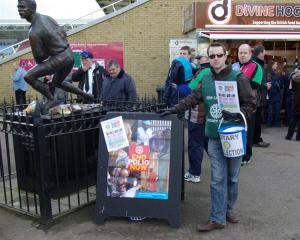 Thanks for Life Collection at The Twickenham Stoop Stadium