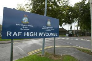 Visit to RAF High Wycombe