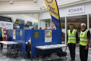 FLEET ROTARY IN THE COMMUNITY