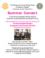 Concert by New English Singers MK