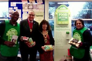 Food Bank Collection in Barkingside