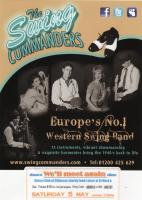 Dancing to the Swing Commanders - Saturday 5th May 2012