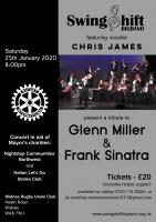 SOLD OUT Big Band Jazz Evening on Saturday, 25th January 2020 at 'The Wids'
