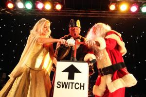 Old Town Christmas Lights - switch on