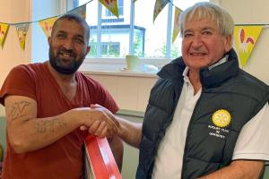 Oswestry Welcomes Syrian Refugees at Tea Party