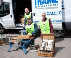 Rotary Club of Thame's Collection of Unwanted Tools