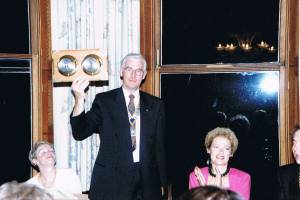 Tony George's president's night at Heckfield House - April 1992