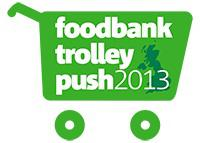 Trussell Trust Trolley Push
