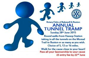Charity Tunnel Tramp - Fundraise for Your Cause