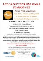 Tools with a Mission (TWAM) Collection Day