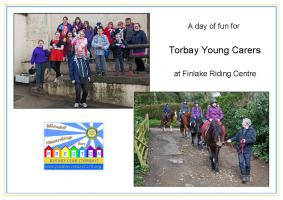 Trip to Finlake Riding Centre for Torbay Young Carers