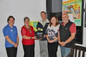 Automated External Defibrillator for Dolgoch