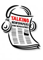 Talking newspapers logo