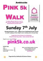 Ambleside 5K Pink Walk 2019 to Pelter Bridge & return