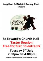 We held the first Tea Dance at the St Edwards Church hall