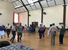 Our second Tea Dance and afternoon tea for the community