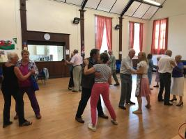 We hold our fourth afternoon tea and dance for the community