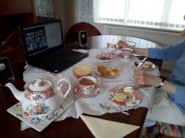 Tea Party for Marie Curie, virtual by Zoom.