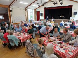Great Get Together Summer Afternoon Tea Party in Embsay 23.6.2019
