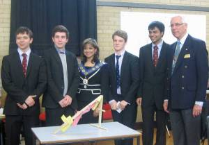 2 March 2012 - Rotary Technology Tournament - the winners