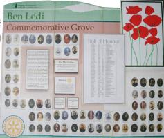 Rotary World War 1 Commemorative Grove