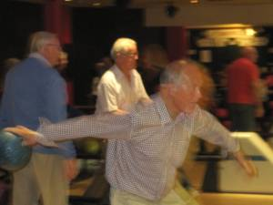 Ryde Rotary V Ryde Lions 10 pin bowling challenge 2014