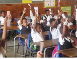 A Global grant of $40,000USD delivering phonics training to 2400 Children and 48 teachers over 2 years in 6 schools in economically poor communities in the Province of KwaZulu-Natal.