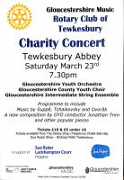 Charity Concert at Tewkesbury Abbey