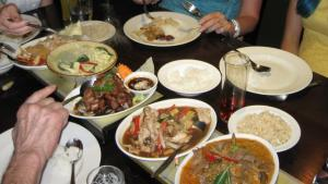 International Evening Thai Sakon meal