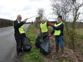 Sep 2014 Litter Pick in Histon Area