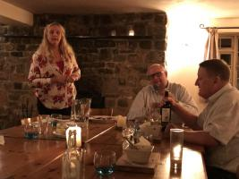 2018 Boules contest and sausage supper at the Vobster Inn