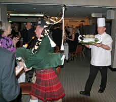 Annual Burns Supper in aid of Local Charities