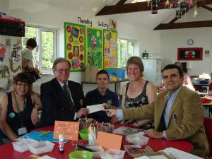 Rotary Grant for the Thomley Activity Centre