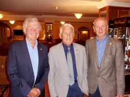 John Gibbs, Benny O Connor and Gerry Purcell receive Top Civic Honour