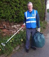 Rotary,  Cleaning up Tarporley and Outlying Villages