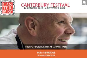 Tom Kerridge Interview at Cathedral Lodge