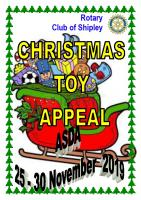 Toy Appeal - 23rd November to 28th November 2020