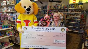 Shanklin Rotary Club Supports the 'IOW Christmas Toy Appeal'
