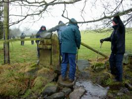 Blaize Trailers walk around Ilkley Moor 17-1-2017