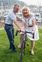 David Attwood's cycle ride