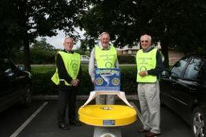 Handover of Rotary Wishing Well to Ludlow Rotary Club (2009)