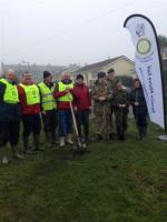 Tree Planting to commemorate WW1