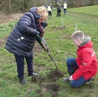 No stopping us now - tree planters